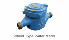 Wheel Type Water Meter